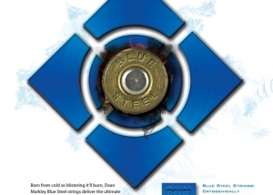 Dean Markley Blue Steel Bullet for MF