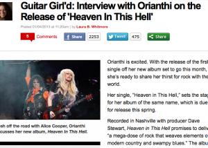 Orianthi interview