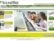 SoundTree_com homepage