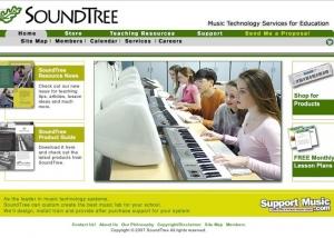 SoundTree_com homepage