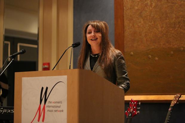 Lori McCallian CEO of Dean Markley introduces Orianthi
