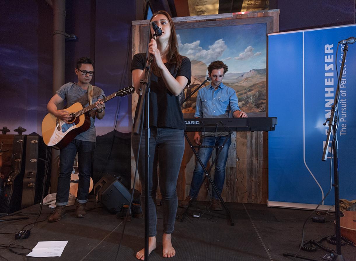Dia Frampton performs at the 2015 She Rocks ASCAP Expo Showcase. Photo by Anjani Lynn White.